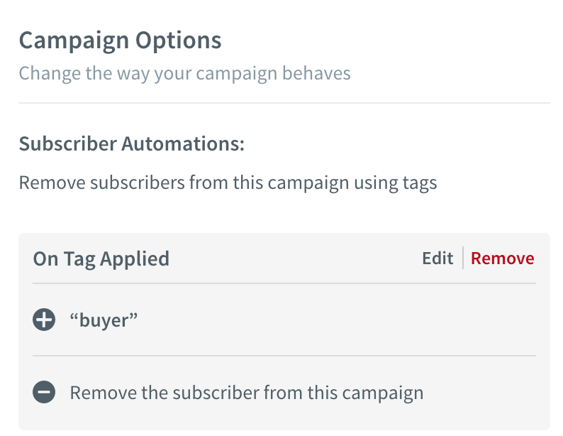 How to remove buyers from a Campaign with AW Pro Tools